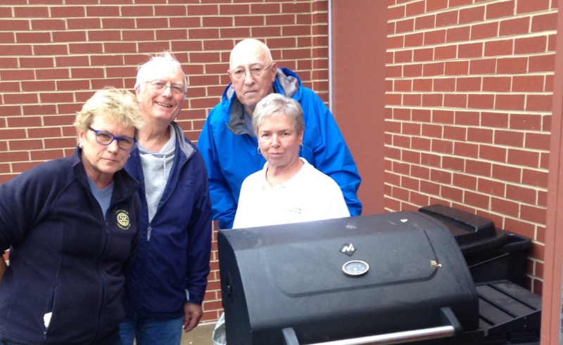 Grill Donation to Westside Emergency Men's Shelter