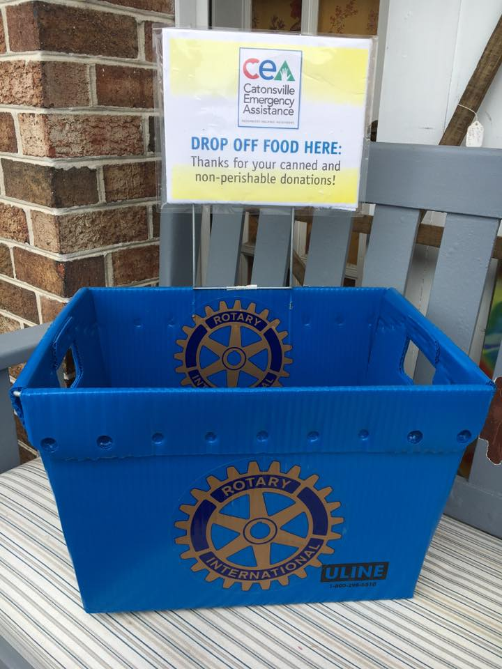 Summer Food Collection for Catonsville Emergency Assistance