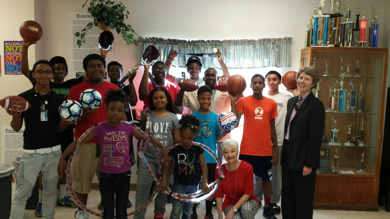 Sports Equipment for the Banneker Community Center After School Program