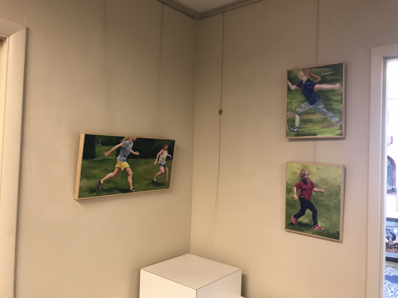 Art Display System for Baltimore County Arts Guild