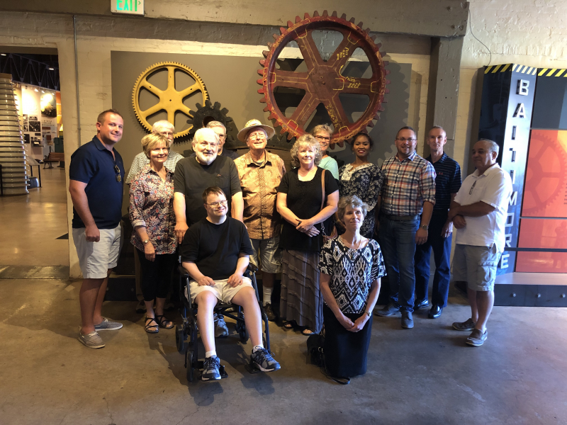 Social Night - Baltimore Museum of Industry Tour - July 31, 2019