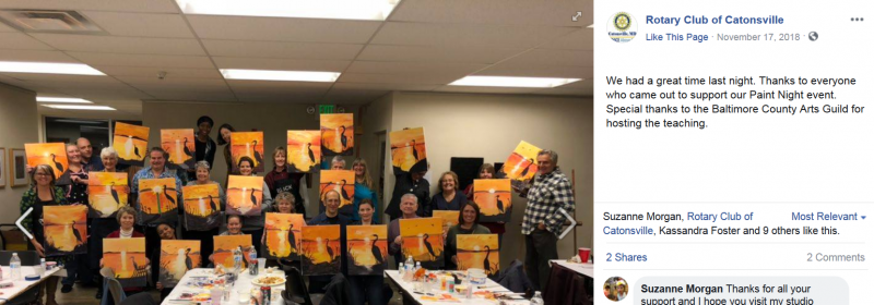 Paint Night 2018